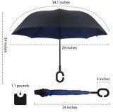 جديد [ك-هندل] [دووبل لر] مظلة نقطة إيجابيّة صامد للريح - مظلة عكسيّة إلى أسفل