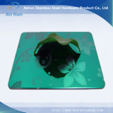 Acero inoxidable AISI 316L grabado de fábrica de hojas de chapa de acero