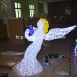 Ange extérieur de DEL pour des lumières de décoration de Noël