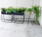Posizione forte del pavimento del POT di fiore di fabbricazione dell'acciaio di vendita calda