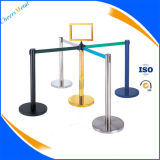 Système de poteaux de barrière de contrôle de la fouille rétractable
