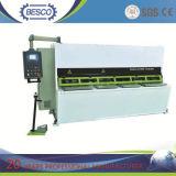 Máquina hidráulica da tesoura da placa do feixe do balanço (QC12Y)