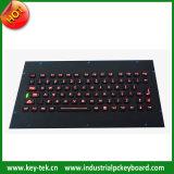 Industrieel en militair toetsenbord met industriële achtergrondverlichting