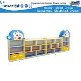 Hot Sale Snoopy Armoire de stockage des meubles en bois pour les enfants de maternelle Jeu de rôle en bois (SC-3107)