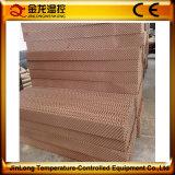Almofada refrigerar evaporativo de Jinlong com papel ondulado da fibra