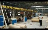 Ligne de production de carton en carton ondulé de haute qualité