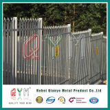 Rete fissa d'acciaio galvanizzata del metallo del Palisade rivestito d'acciaio del Palisade Fence/PVC