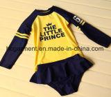子供のための長い袖の水泳の摩耗、専門の水着
