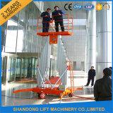 lift Platfrom van de Mens van 12m handhaaft de Lichte Draagbare Hydraulische voor