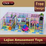SGS Colorful Plastic Castle Thème aire de jeux intérieure