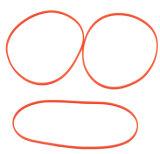 Preiswerte kundenspezifische Standard- u. nichtstandardisierte Größen-rote Ring-Gummidichtung