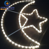 Ramadán colgando adornos de luz LED