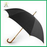 폴리에스테 견주 물자 매일 걷는 다채로운 주문 로고에 의하여 인쇄되는 목제 우산