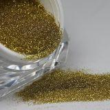 Polvere di scintillio dell'oro per i mestieri