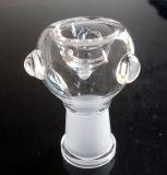 Tazones de fuente de la pipa con la junta femenina 14m m y 18m m Tazones de fuente de cristal de la mezcla