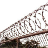 Border Fence에 있는 높은 Security Galvanized Razor Wire 를 사용하는