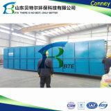 a planta do tratamento da água do desperdício industrial de água de esgoto 400tpd doméstica, remove o bacalhau, BOD
