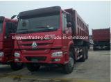 중국 HOWO 6X4 무거운 짐 덤프 트럭 371 HP