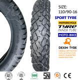 Neumático del neumático de la motocicleta de la moto del camino 110/90-16