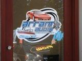 Стикер окна, статический стикер, подгонянный стикер PVC (HX14001)