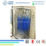 Закаленное стекло для цифровой печати трафаретных надписях на боковой сдвижной двери