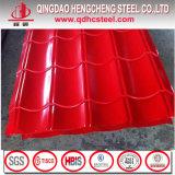 赤いカラー塗られた電流を通された鋼鉄屋根シートの価格