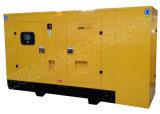 gerador 90kVA Diesel Soundproof com motor 1006tg1a de Lovol para projetos de edifício