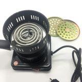 Het enige Draagbare Fornuis van Hotplate van de Verwarmer van de Houtskool van de Waterpijp van de Rol Elektrische (S-hs-001)