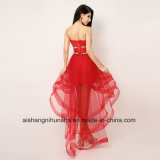 Haut Bas Crystal Homecoming Sweetheart bustier robes robes de bal