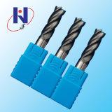 Сплошной нож из карбида вольфрама 2/4 выемок угловой радиус конечных продуктов режущих инструментов