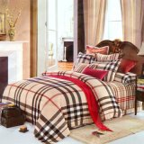 Van het Katoenen van 100% Reeks van uitstekende kwaliteit van het Blad van het Bed van de Streep van het Linnen Beddegoed van het Hotel de Textiel