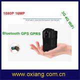 Le WiFi 4G Eqipment Corps de police de caméra avec 3200mAh batterie et la vision nocturne