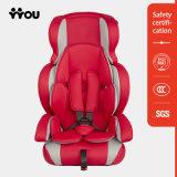 Sede di automobile gonfiabile rossa registrabile del bambino