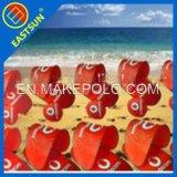 190t de la plage de nylon polyester mat avec un abri