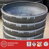 Buttweld炭素鋼の帽子のステンレス製の管付属品