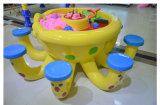 Tabella educativa della sabbia del giocattolo del polipo dei giochi dei giocattoli della sabbia magica del centro di intrattenimento della famiglia