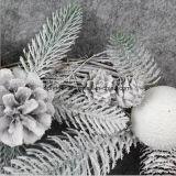 42 * 42cm Rattan Gift Pendentif Décoration pour Noël
