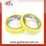 Cinta adhesiva amarilla de 80 grados para la pintura automotora