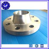 Flange forjada do aço (WN) SS304 inoxidável dos Ss 316 da tubulação da garganta da solda