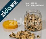 투명한 도매로 병 차 과자를 포장하는 음식에 의하여 밀봉되는 플라스틱 단지