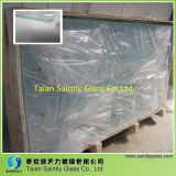 4mm Big Size Low Iron Toughened LED Display Screen Glass ISO, CCC