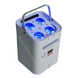4*18W 6 in 1 indicatore luminoso senza fili di PARITÀ della batteria