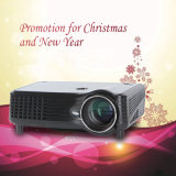 Dom Chirstmas Promoção Projector LED Home Theater HDMI