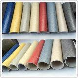 Revêtement de sol en carré PVC Revêtement de sol en vinyle