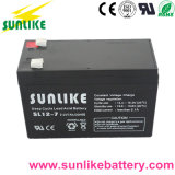 Aprobación ce de plomo-ácido de batería recargable de 12 V7.2ah UPS para electricidad