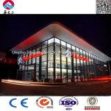 Prefab светлый выставочный зал стальной структуры
