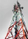 屋外の自己サポートの格子電気通信の角の鋼鉄GSMタワー
