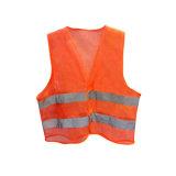 Venda por grosso Visiblity coletes de Alta Segurança reflexivo com bolsos