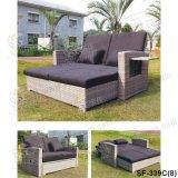 Jogos ao ar livre do sofá, mobília do Rattan do pátio, jogos do sofá do jardim (SF-339)