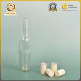 燧石または明確な200ml小さいボルドーのガラスワイン・ボトル(387)